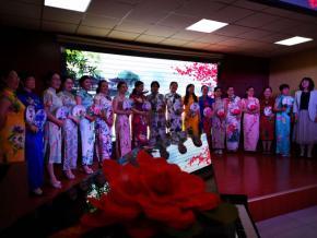 北中教师魅力无限 中华经典完美演绎 --北海中学校园读书节教师活动